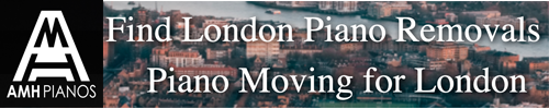 London Piano Removals Services by AMH