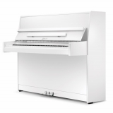 Ritmuller 112cm modern upright piano white new