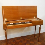 John Morley 4 octave clavichord mahogany c1964