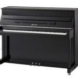 Ritmuller 110cm traditional upright piano black new with Genio Silent System