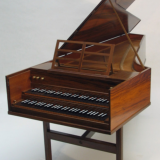 John Morley double manual harpsichord