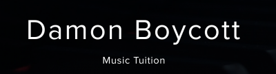 Damon Boycott Piano and Bass Guitar Tuition
