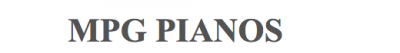 MPG Pianos Hire