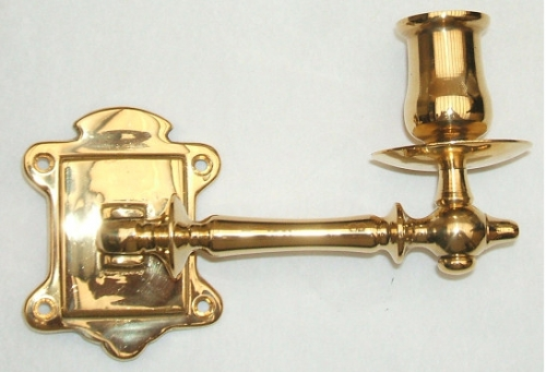 the best attitude e0383 c7859 Short Solid Brass Piano Candlestick Holder