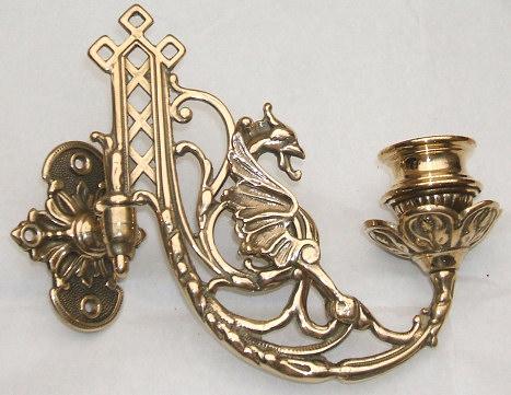 Dragon Gargoyle Solid Brass Piano Sconces Candlestick