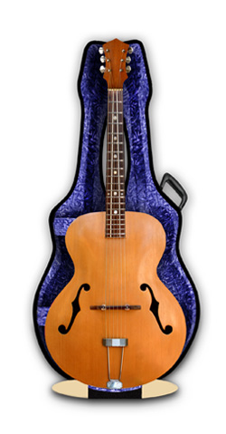 Archtop guitar 3 d greeting cards musical gifts uk piano page archtop guitar 3d greeting card m4hsunfo