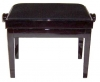 Tozer Adjustable Piano Stool with Fixed Legs