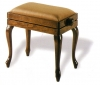Adjustable Piano Stool Rise & Fall Height with Queen Anne legs