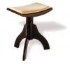 3 Legged Stool with Physiologic Padded Seat Rise & Fall Height