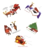 Christmas Cards on a Piano Theme