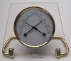 Hygrometer/Thermometer in Brass